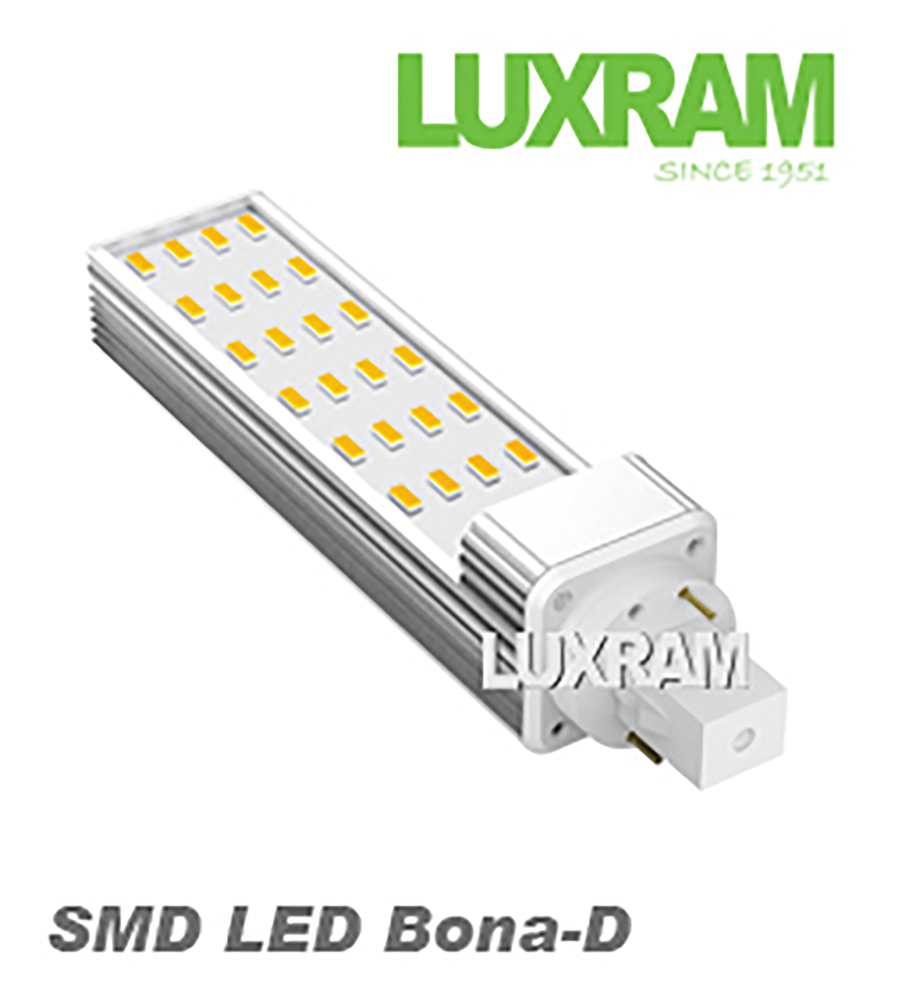Power SMD LED Lamps Luxram T8 26mm
