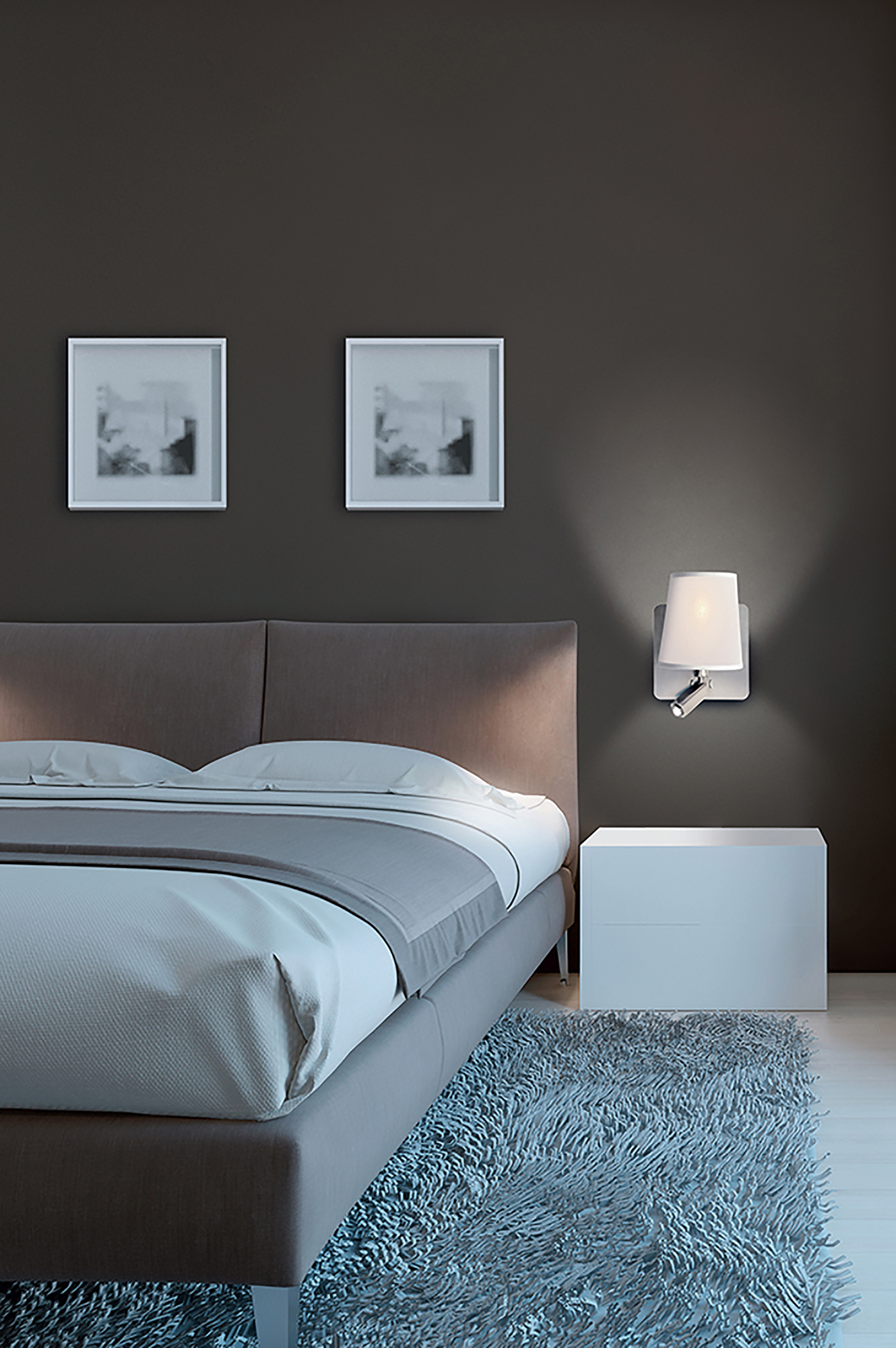 Bahia Wall Lights Mantra Contemporary Wall Lights