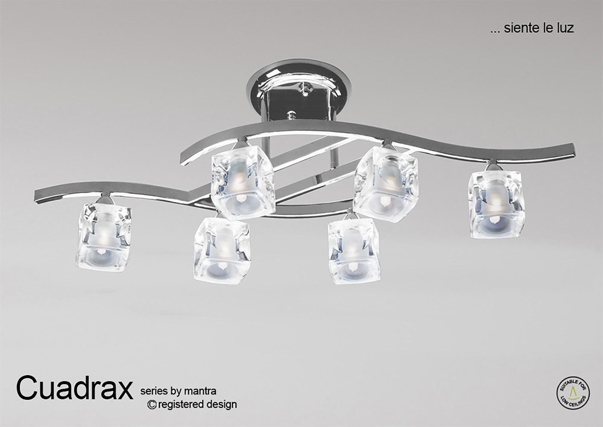 Cuadrax SN Ceiling Lights Mantra Contemporary Ceiling Lights