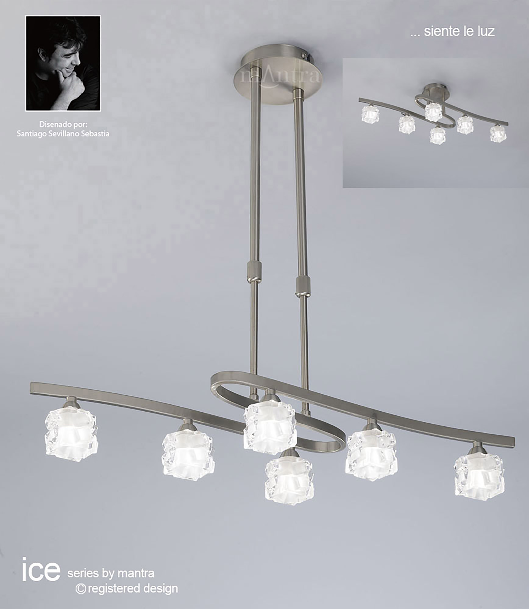 Ice SN Wall Lights Mantra Contemporary Wall Lights