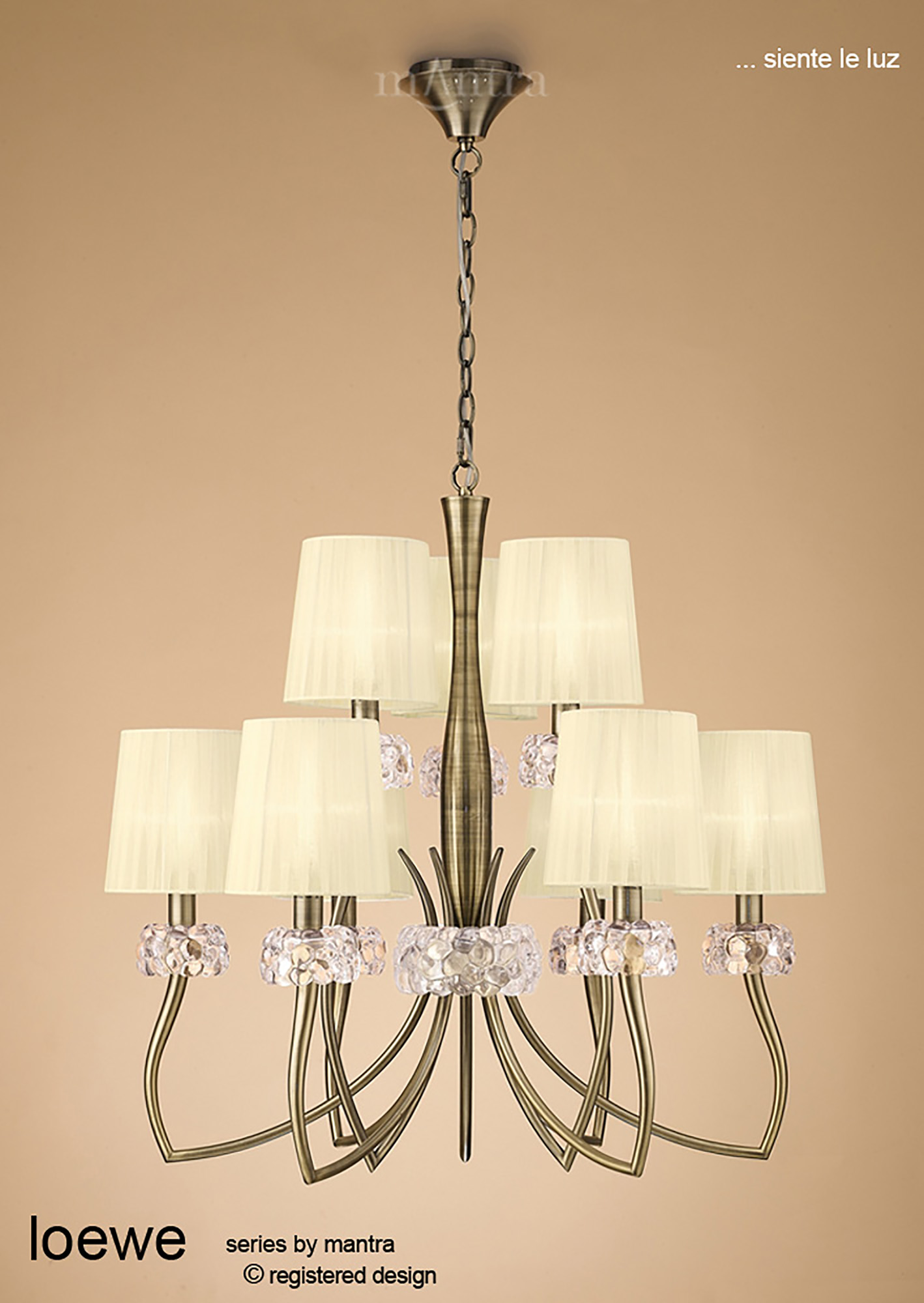 Loewe AB Table Lamps Mantra Contemporary Table Lamps