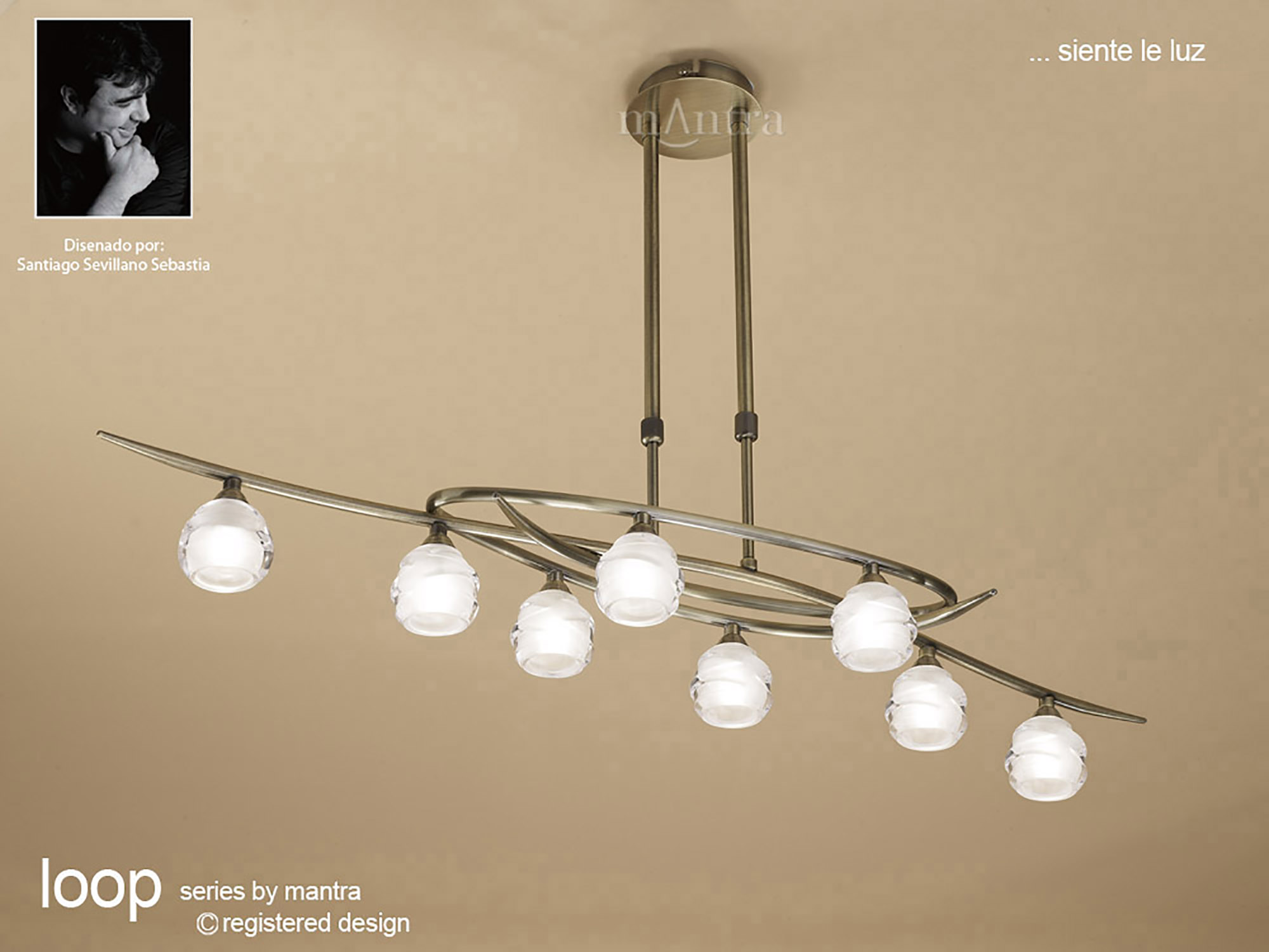 Loop AB Ceiling Lights Mantra Contemporary Ceiling Lights