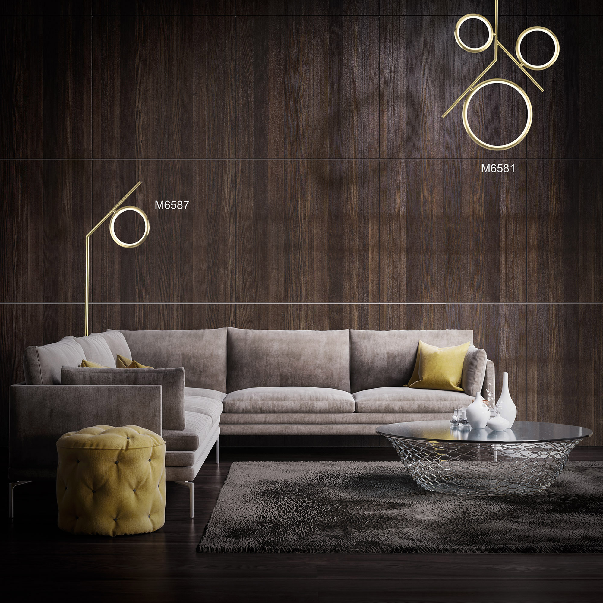 Olimpia SG Ceiling Lights Mantra Contemporary Ceiling Lights