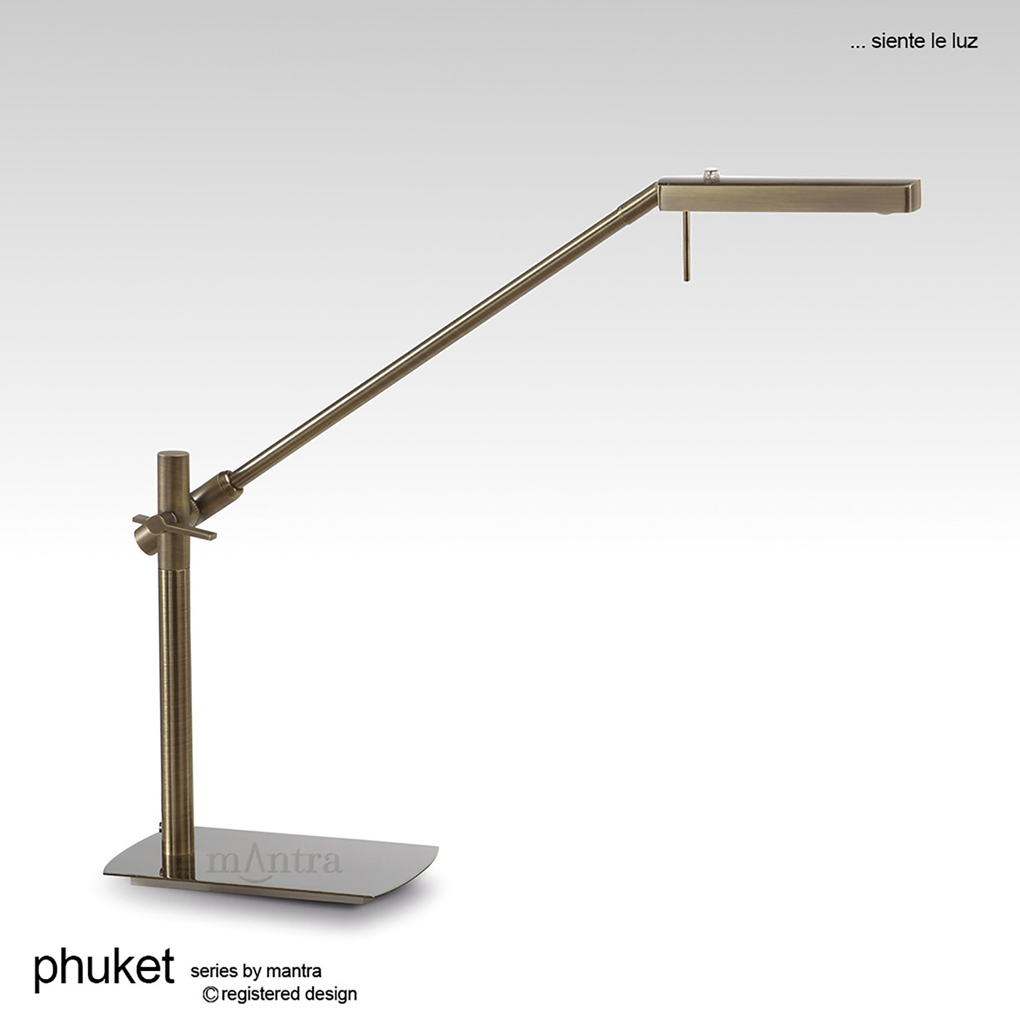 Phuket AB Table Lamps Mantra Contemporary Table Lamps