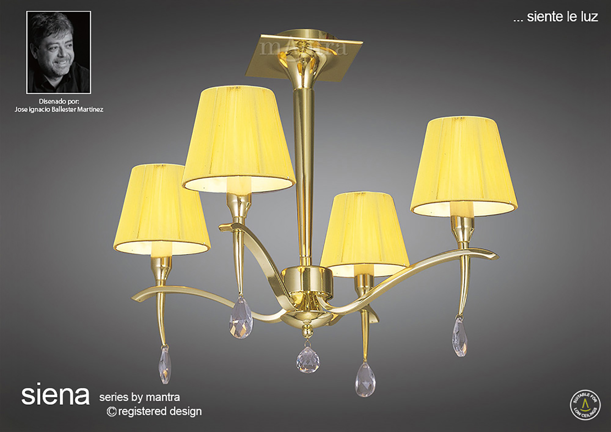 Siena PB Crystal Floor Lamps Mantra Traditional Crystal Floor Lamps