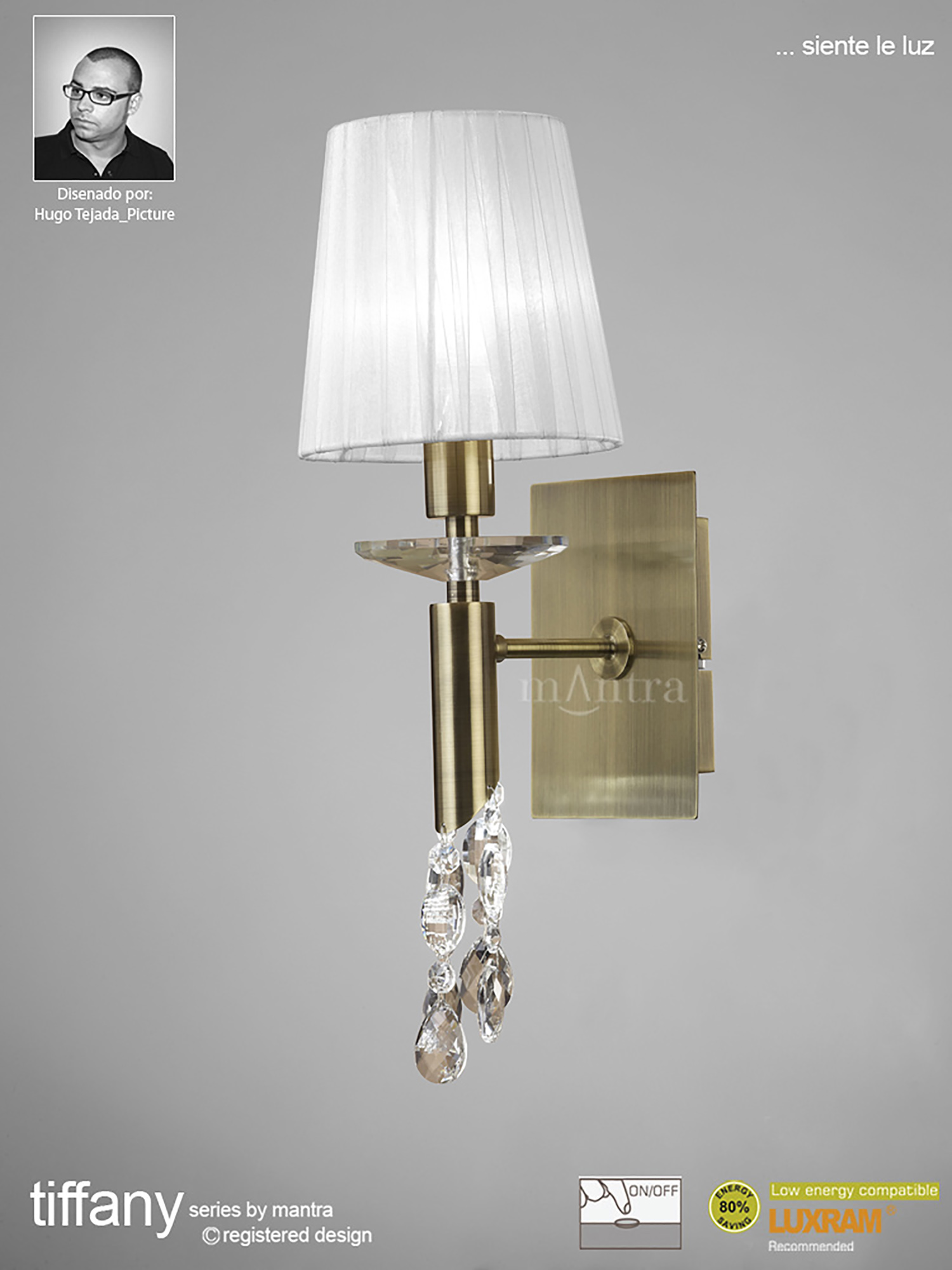 Tiffany AB Crystal Table Lamps Mantra Contemporary Crystal Table Lamps