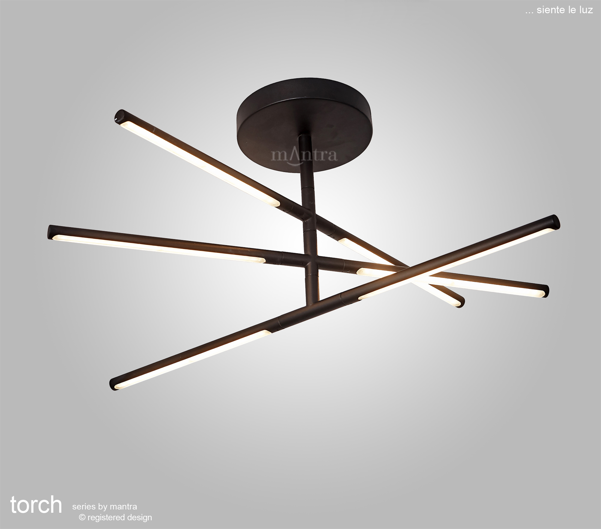 Torch Ceiling Lights Mantra Fusion Single Pendant