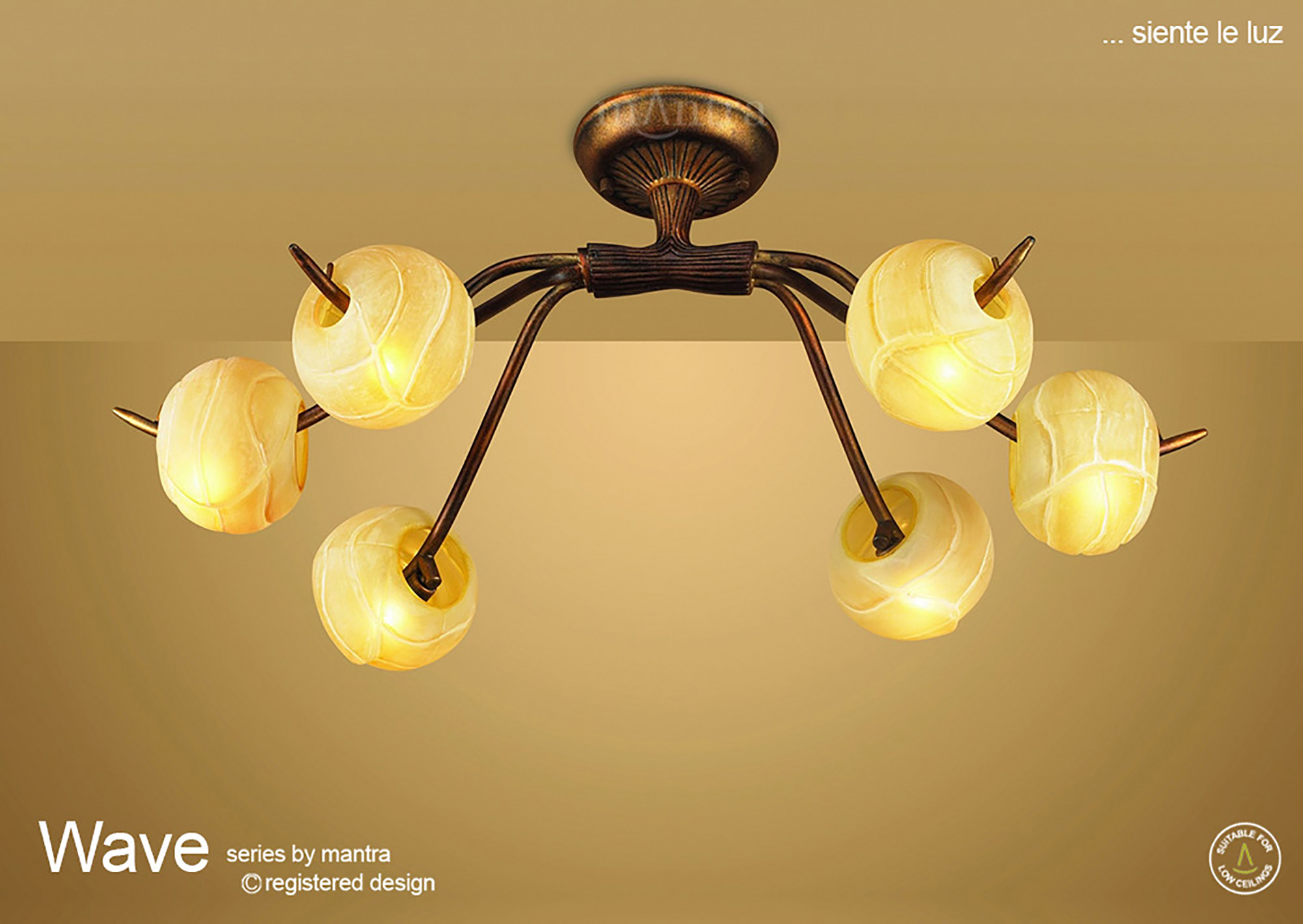 Wave Ceiling Lights Mantra Traditional Ceiling Lights