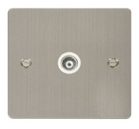 Define Stainless Steel Wiring Accessories Click Flat Plate
