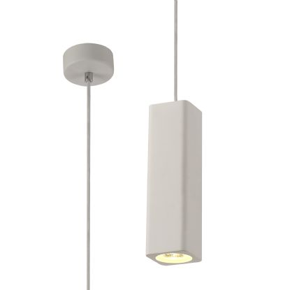 Alina Plaster Lights Deco Single Pendant