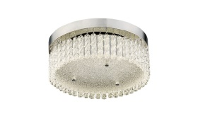 Aiden Crystal Ceiling Lights Diyas Flush Crystal Fittings