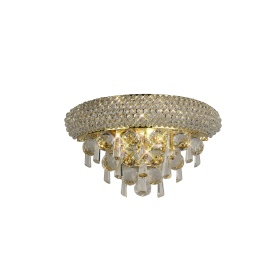 Alexandra Crystal Wall Lights Diyas Traditional Crystal Wall Lights