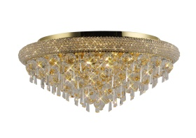 Alexandra Crystal Ceiling Lights Diyas Traditional Crystal Ceiling Lights