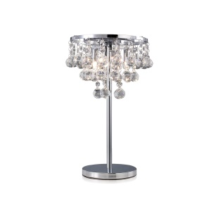Atla Crystal Table Lamps Diyas Contemporary Crystal Table Lamps