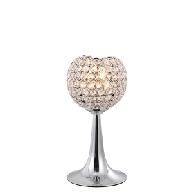 Ava Crystal Table Lamps Diyas Contemporary Crystal Table Lamps