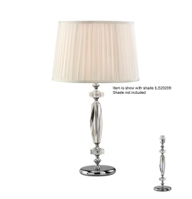 Bella Crystal Table Lamps Diyas Contemporary Crystal Table Lamps