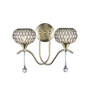 Chelsie Wall Lights Diyas Contemporary Wall Lights
