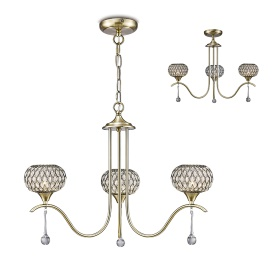 Chelsie Ceiling Lights Diyas Contemporary Ceiling Lights