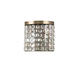 Cortina Crystal Wall Lights Diyas Flush Crystal Wall Lights