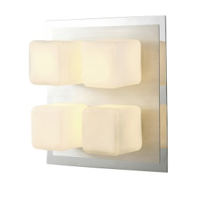 Cube Bathroom Lights Diyas Flush Fittings