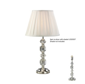 Dana Crystal Table Lamps Diyas Contemporary Crystal Table Lamps