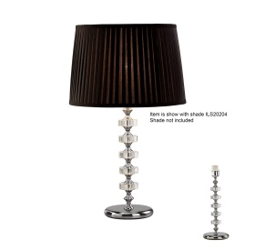 Elenor Crystal Table Lamps Diyas Contemporary Crystal Table Lamps