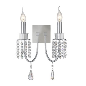 Emily Crystal Wall Lights Diyas Modern Crystal Wall Lights