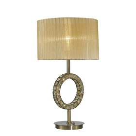 Florence Crystal Table Lamps Diyas Contemporary Crystal Table Lamps
