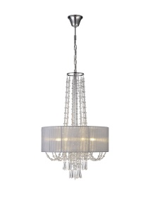 Freida Crystal Ceiling Lights Diyas Modern Chandeliers