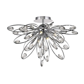 Harlow Crystal Ceiling Lights Diyas Modern Crystal Ceiling Lights