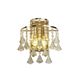 Inina Crystal Wall Lights Diyas Contemporary Crystal Wall Lights