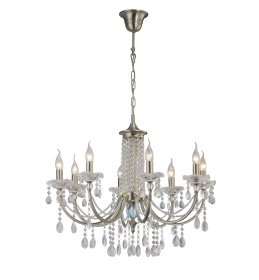 Leana Crystal Ceiling Lights Diyas Contemporary Chandeliers
