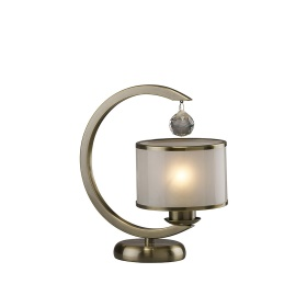 Lincoln Crystal Table Lamps Diyas Contemporary Crystal Table Lamps