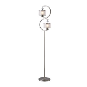 Lincoln Crystal Floor Lamps Diyas Contemporary Crystal Floor Lamps