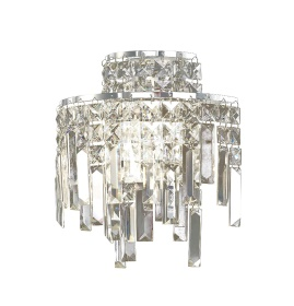 Maddison Crystal Wall Lights Diyas Contemporary Crystal Wall Lights