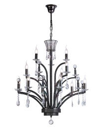 Orlando Crystal Ceiling Lights Diyas Modern Chandeliers