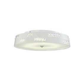 Phoenix Crystal Ceiling Lights Diyas Flush Crystal Fittings