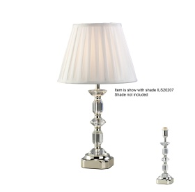 Sora Crystal Table Lamps Diyas Contemporary Crystal Table Lamps