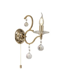 Zinta Crystal Wall Lights Diyas Contemporary Crystal Wall Lights