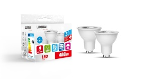 Duo-pack LED Lamps Luxram Candle