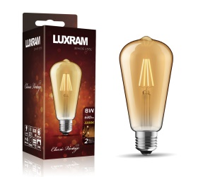 Value Vintage LED Lamps Luxram Vintage