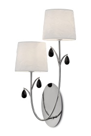 Andrea Wall Lights Mantra Contemporary Wall Lights