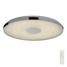 Centara Crystal Ceiling Lights Mantra Fusion Flush Crystal Fittings