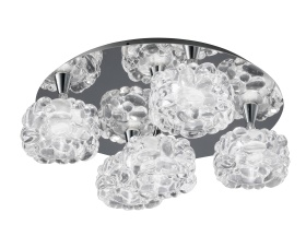 O2 Ceiling Lights Mantra Flush Fittings