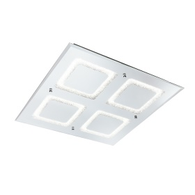 Windows Crystal Ceiling Lights Mantra Fusion Flush Crystal Fittings