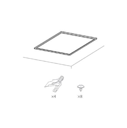 Panel X2 Ecovision Recessed Ceiling Luminaires Techtouch Recessed Ceiling Accessories