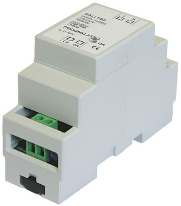 28000876  DALI power supply, 5W 240mA, 220-240V 50/60Hz input, Din rail mounting, Ta: 0 to +50 °C, IP20
