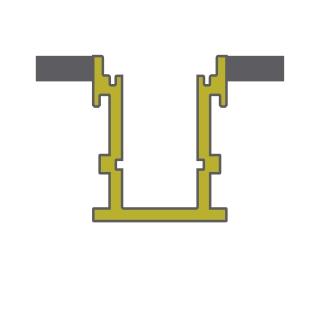 Lungo 5075 Profiles Dlux Aluminium Profile