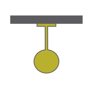 Eos 20 P Ceiling Lights Dlux Single Pendant