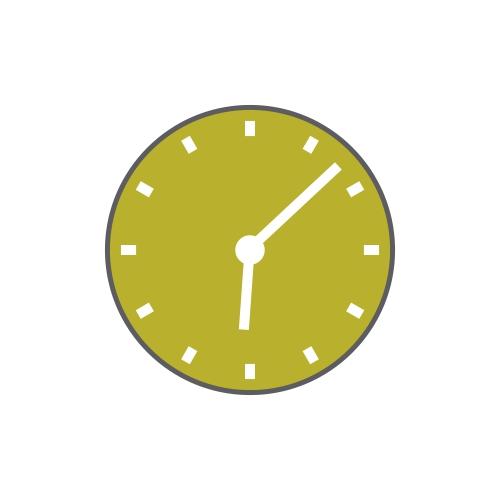 Orion Art Glassware Diyas Home Clocks